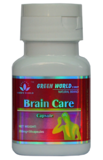 Obat Stroke Herbal Mujarab Brain Care Capsule