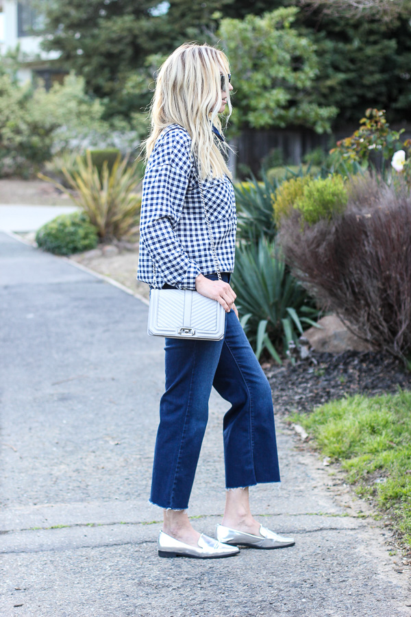 how to wear cropped pants for spring