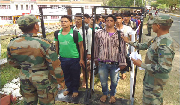 Bandipora Army Rally, Indian Army Rally, Open Bharti Rally