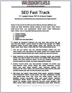 Ebook 97 Langkah Sukses TOP 10 di Search Engine
