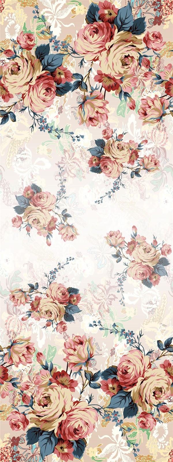 HAND DRAWN_Flower Design_Digital Print_1 | Blisse Design ...