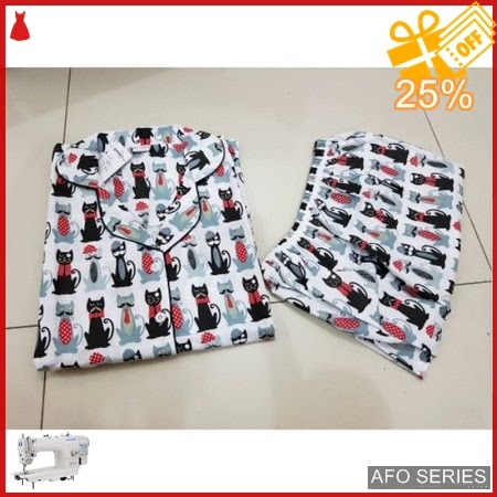 AFO675 Model Fashion Sleepwear Blackcat Modis Murah BMGShop
