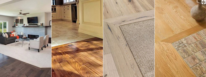 2018 trends: flooring transitions between rooms