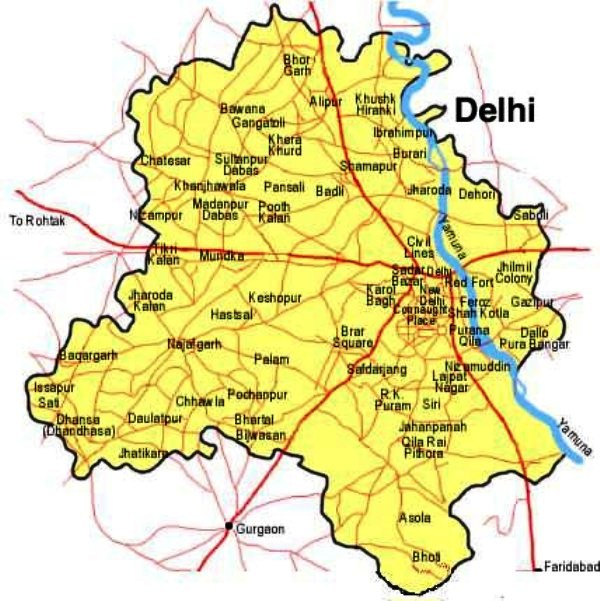 Getting around in new delhi locally revised jan 2015 for Soil gurgaon