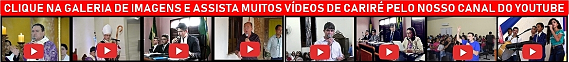 CANAL CARIRÉ EM REVISTA NO YOUTUBE