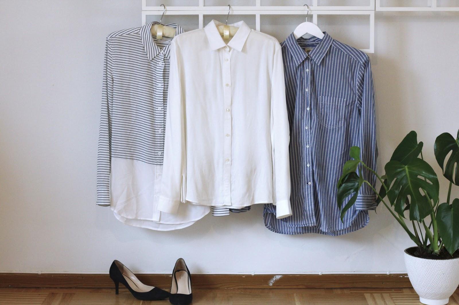 equipment shirt, acne studios shirt and gap shirt