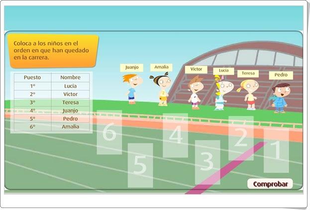 BUSCAR DATOS EN UNA TABLA (Actividad interactiva de Matemáticas de Primaria)