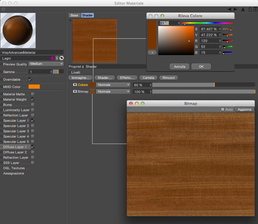 Illuminare un interno con cinema4d vray la guida definitiva parte 5 materiali angelo - Materiale specchio 3ds max ...