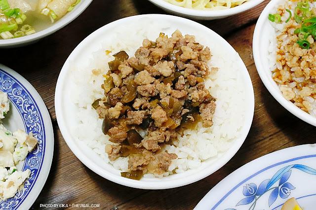 MG 5519 - 沙鹿拉仔麵,在懷舊的國小教室裡吃飯,月見豬油飯有可愛笑臉超療癒!