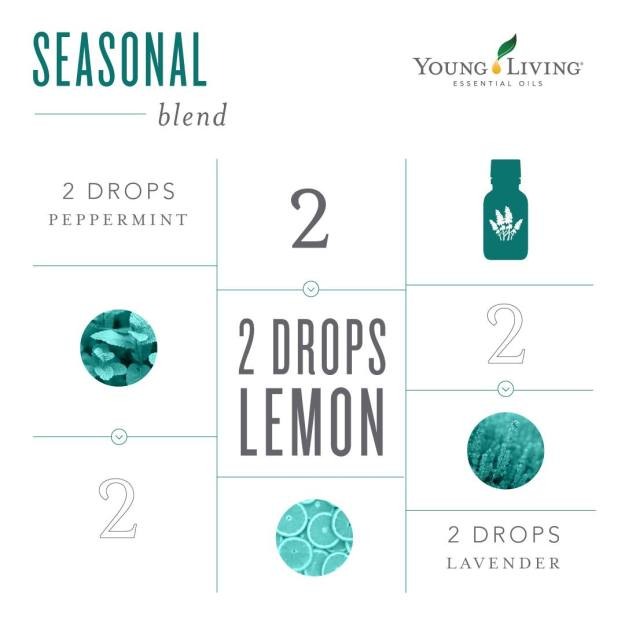 seasonal support diffuser blend