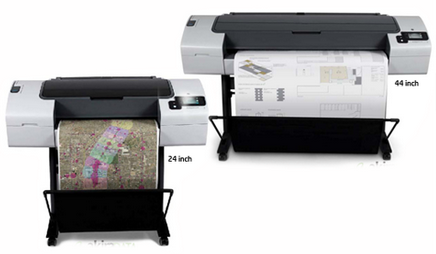Mesin Plotter HP Designjet T790