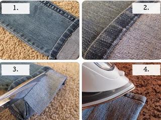 Kot Pantolon Paçası Nasıl Kısaltılır? Orijinal paça modeli yapımı, Resimli Açıklamalı 1