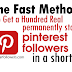 Buy Pinterest Followers For $1 [Permanent Followers]