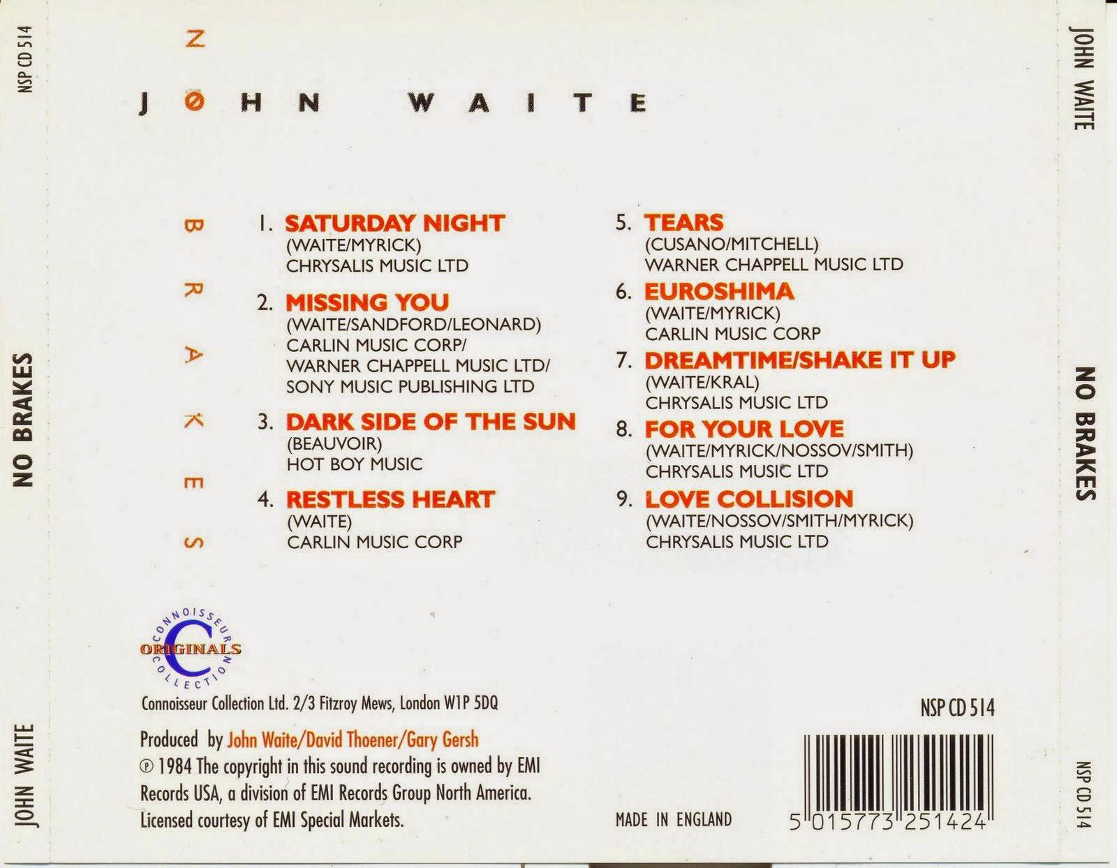 Mi Coleccion De Musica John Waite
