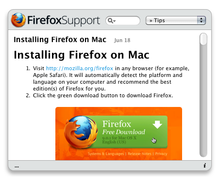 FirefoxSupport – Get useful Mozilla Firefox Tips and Tricks