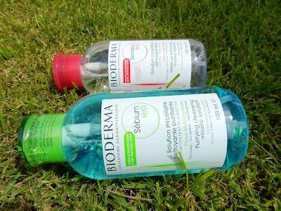 Bioderma Sebium H2O and Sensibio 500ml pump bottles - www.modenmakeup.com