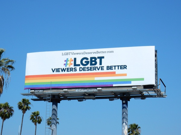 LGBT viewers deserve better billboard