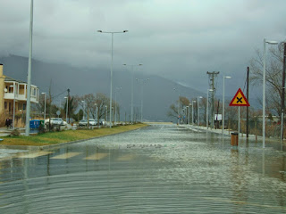 Σε περιοχές της Αρτας και  των Ιωαννίνων  τα μεγαλύτερα ύψη βροχής