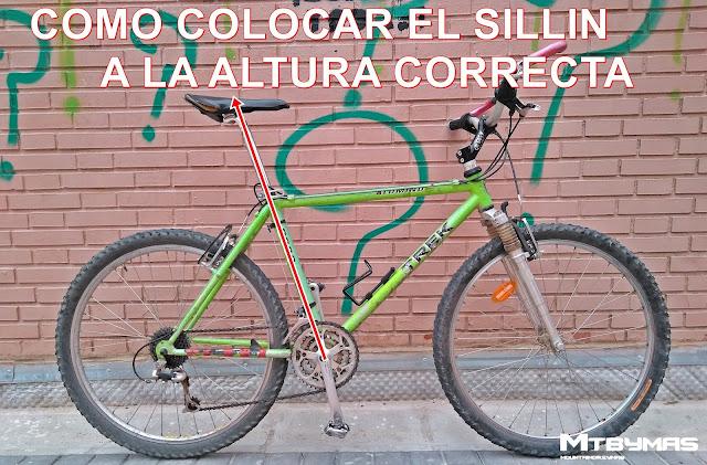 COMO CALCULAR LA ALTURA CORRECTA DEL SILLIN