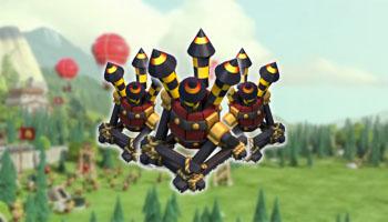 Kumpulan Formasi Base Town Hall 7 Dengan 3 Air Defense Clash of Clans