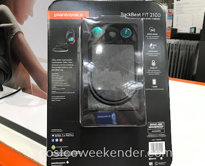 Costco 1332100 - Plantronics BackBeat Fit 2100 Wireless Sport Earbuds: great for any athlete or gym rat