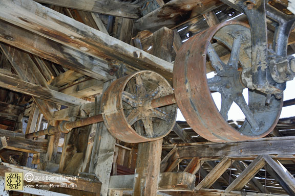 Overhead Drums and Pulleys, Chemung Mine