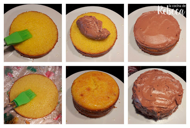 Receta de tarta de naranja y chocolate 02