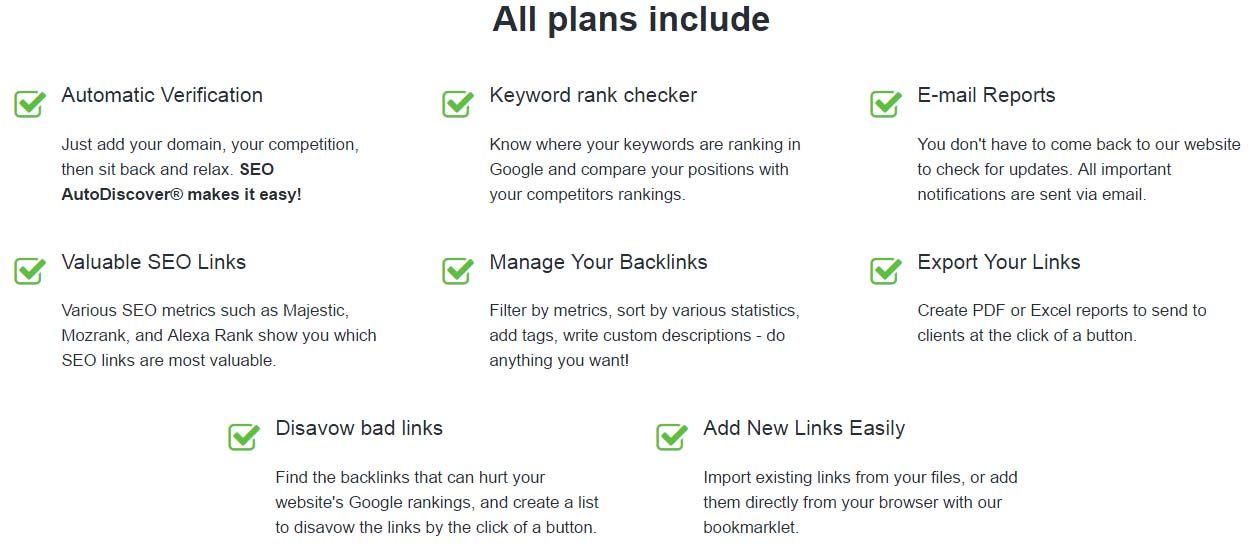 monitor backlinks plans