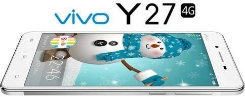 Harga HP Vivo Y27 Tahun 2017 Lengkap Dengan Spesifikasi, 4G LTE, RAM 1GB, Kamera 8MP