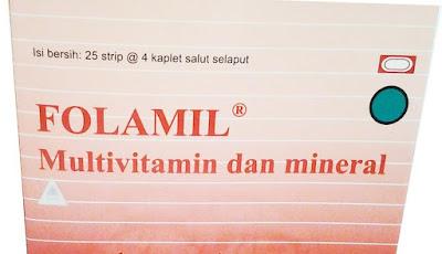 harga Folamil Suplemen Nutrisi Ibu Pra Pasca Hamil Terbaru 2017