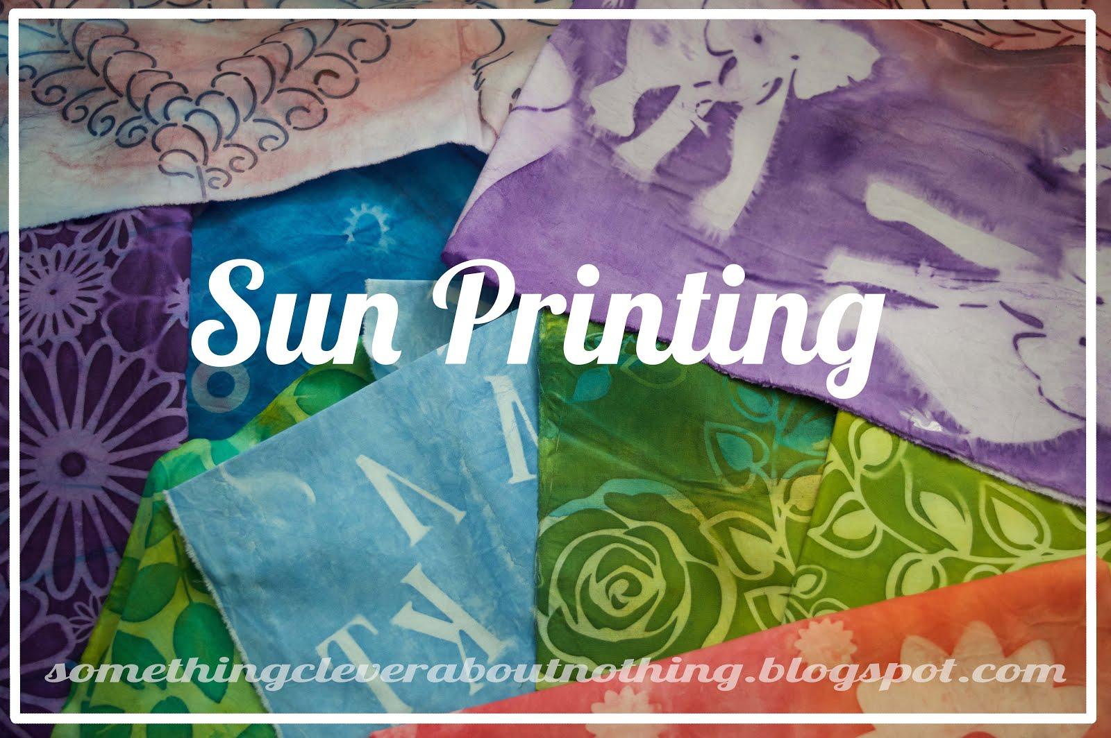 The Printed Fabric Bee Sun Print Paloza