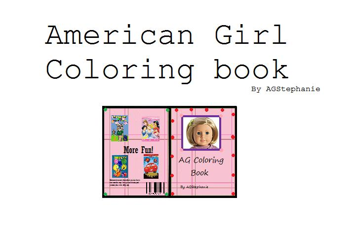 everyone has a star in them american girl coloring book