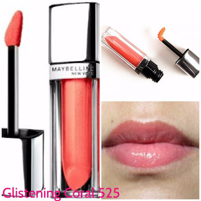 Son bóng Maybelline Color Sensational Color Elixir Iridescents lipstick 525 Liquid Balm Glistening Coral - SM039