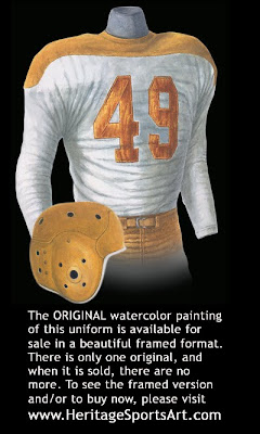 Green Bay Packers 1946 uniform
