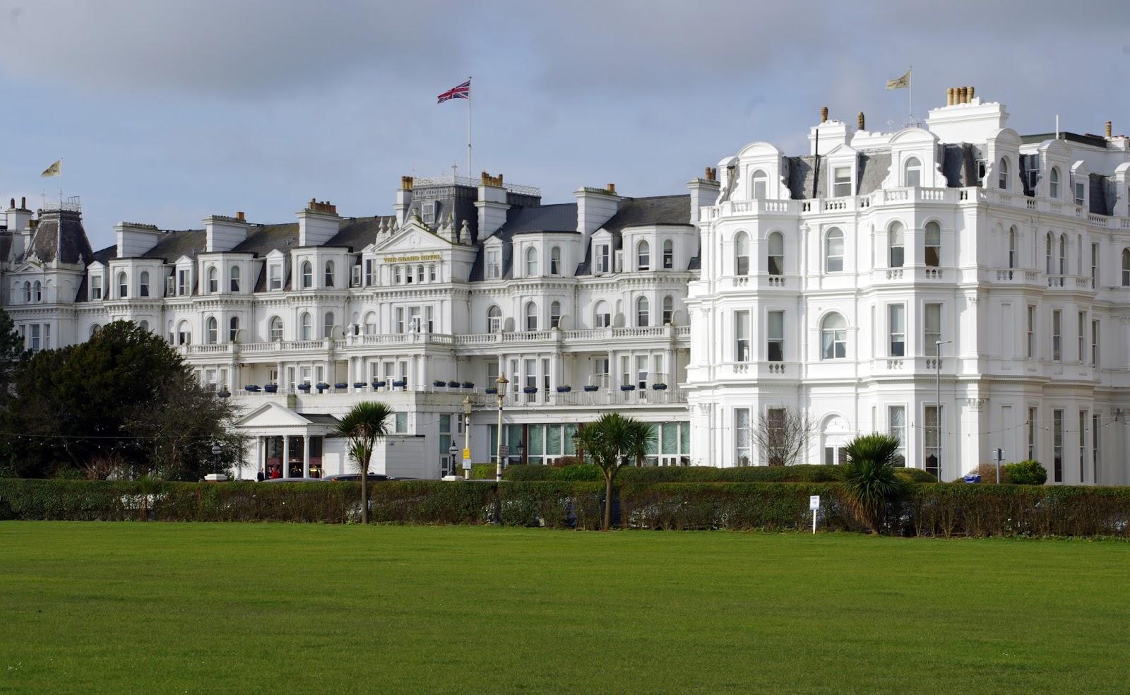 The Grand Hotel Eastbourne Exterior