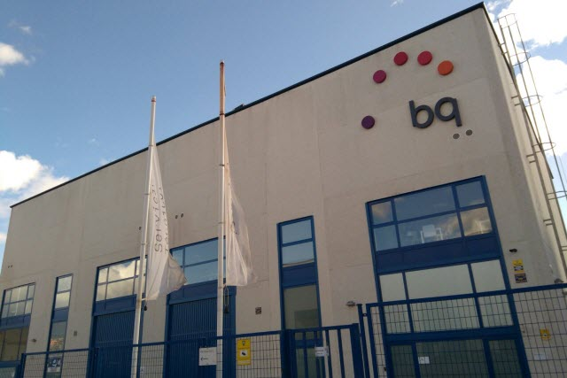 BQ tiene su centro de reparación en Rivas Vaciamadrid