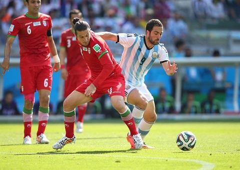 Tại World Cup 2014, Iran đã làm khó Argentina