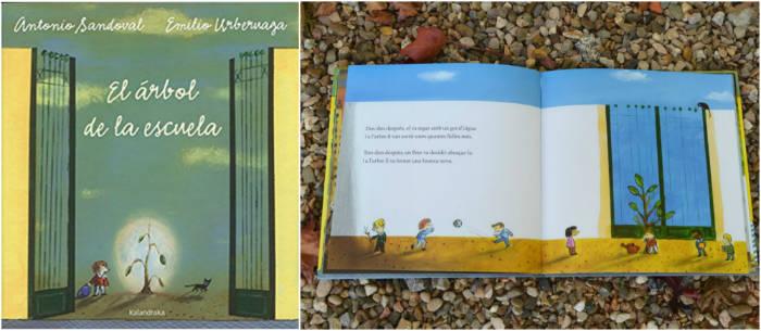 cuentos libro infantiles respetar cuidar medio ambiente el arbol de la escuela
