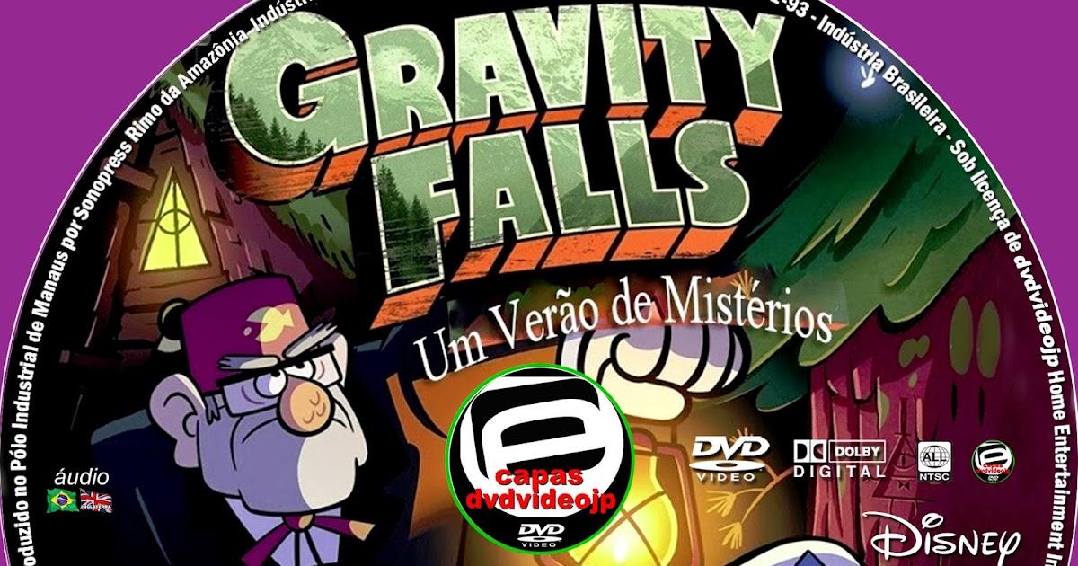 CAPAS DVD VIDEO JP: GRAVITY FALLS UM VERÃO DE MISTÉRIOS