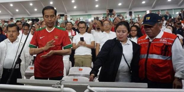 AGEN BOLA - Presiden Jokowi Resmikan Stadion GBK Yang Baru Di Renovasi