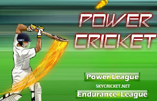 Play online power cricket game
