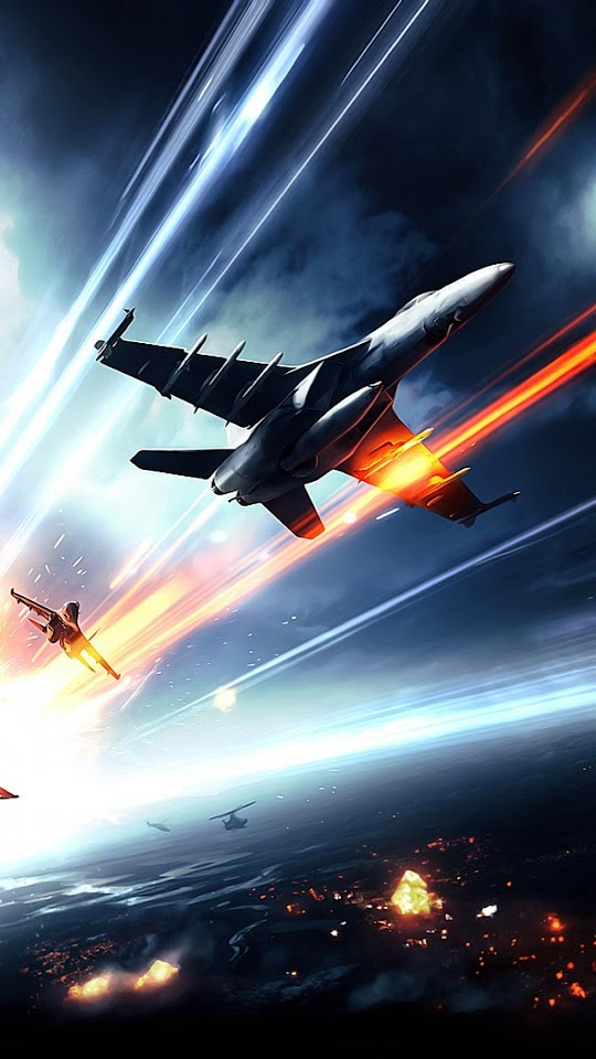 Battlefield 3 Jetfighter  Galaxy Note HD Wallpaper