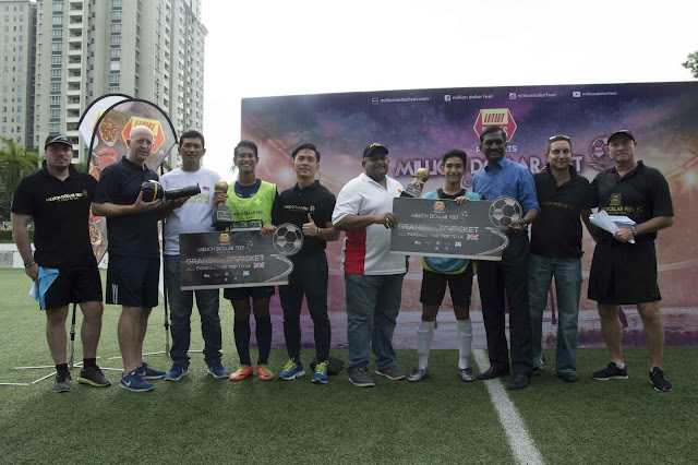 K.L. Boys Win Million Dollar Feet™ Football Competition
