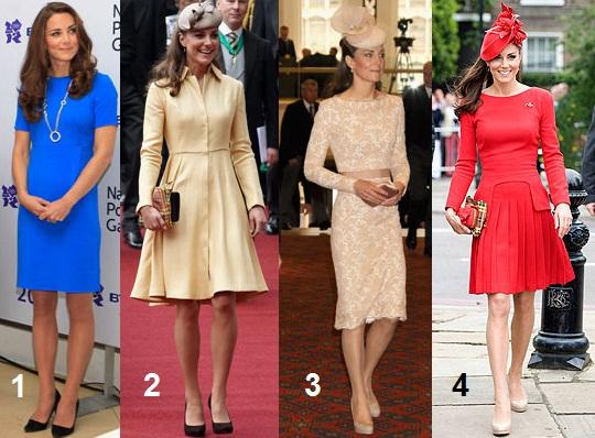 2555a390a6 A duquesa Kate Middleton investiu em um look azul vibrante – a cara do  próximo verão