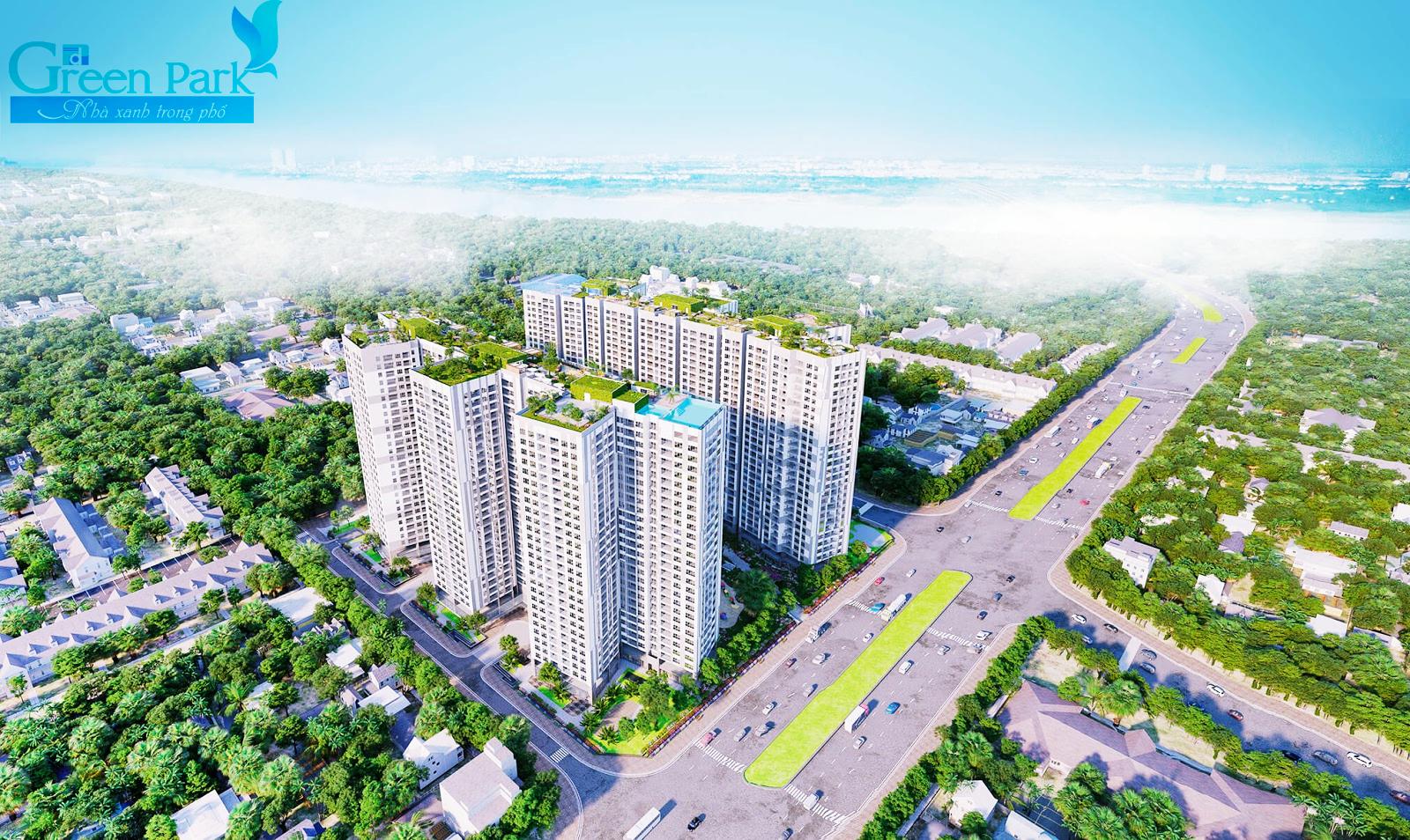 Phương Đông Green Park - siêu dự án chung cư phía Nam Hà Nội