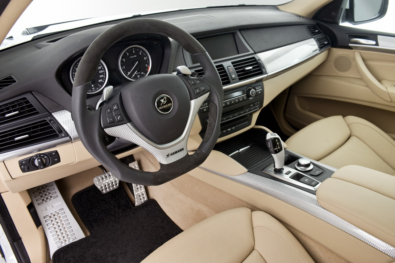 Cool Car Wallpapers: Bmw x6 2011 interior