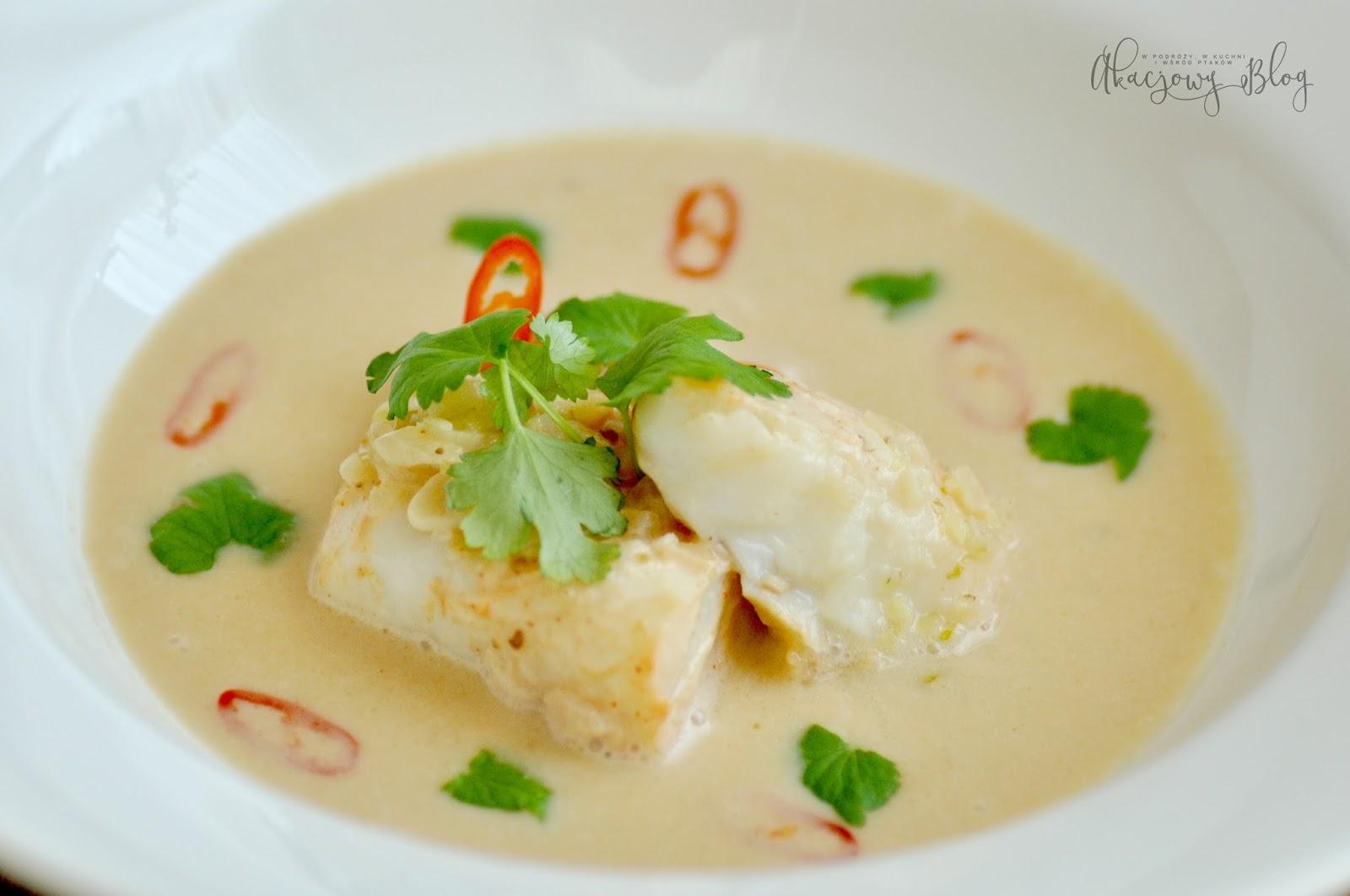 Dorsz a la Nage czyli tajskie oblicze ryby.