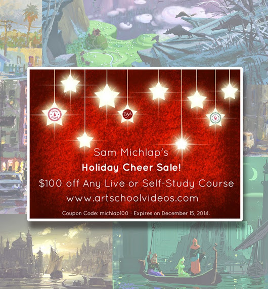 Holiday Coupon for my Online courses!!