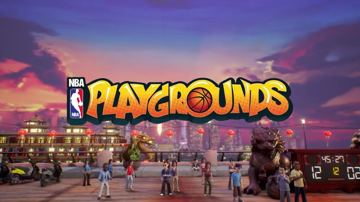 NBA Playgrounds se lanzará el 9 de mayo