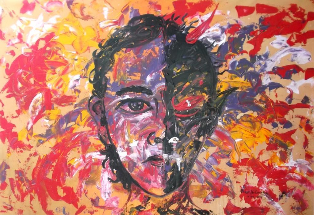 Lukisan Abstrak Hem: >> LUKISAN ABSTRAK KARYA HENO AIRLANGGA